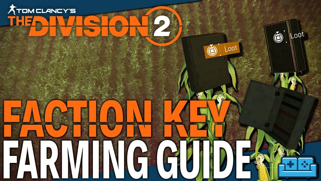 The Division 2: How To Farm Faction Keys & Caches