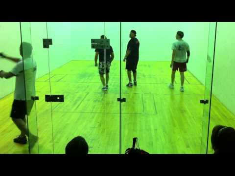 Nick Hand & James Russell vs. Tim Hansen & Aaron Metcalf -- (Game 2, Part 1)