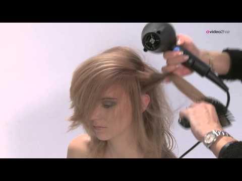 Haarschnitt weich gestuft für langes Haar - POWDERlayered - FULL - by video2hair.com