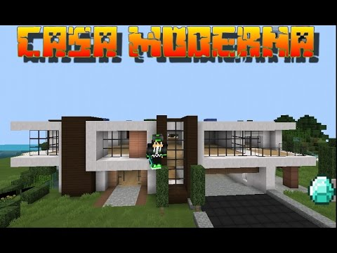 Descargar casa moderna minecraft pe 11 youtube for Casa moderna minecraft 0 12 1