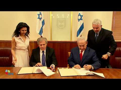 PM Netanyahu Meets Luis Almagro, Secretary General of the Organization of American States