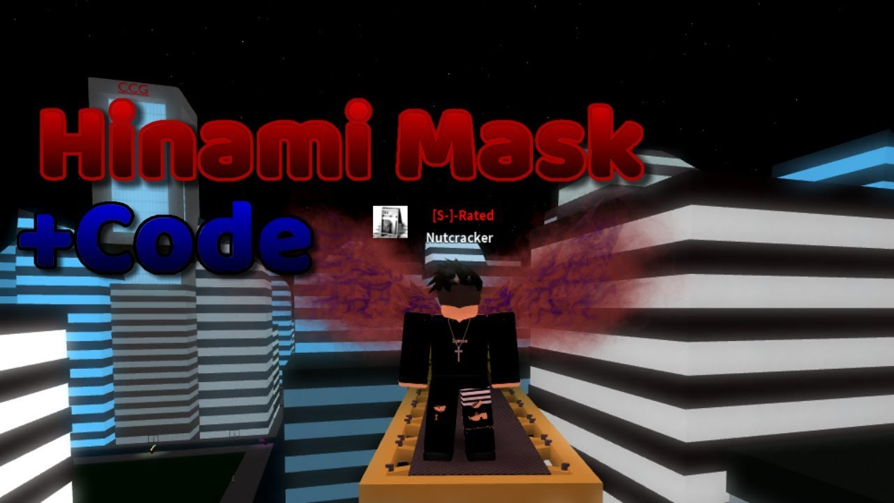 Ro Ghoul Hinami Mask Showcase New Codes Roblox By Fallxnfear