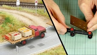 Adding Realistic Details to Vehicles – Model Scenery