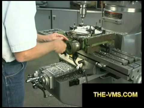 Milling Machine Rotary Table Youtube