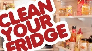 How to Clean a Refrigerator: Kitchen Cleaning Ideas