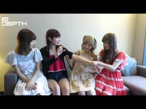 Silent Siren Live Tour 2015 in Hong Kong Interview ENG SUB (Silent Siren 訪問 中字)
