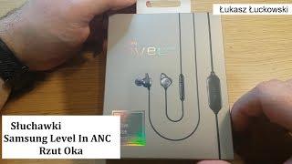 Słuchawki douszne Samsung Level in ANC | Rzut Oka