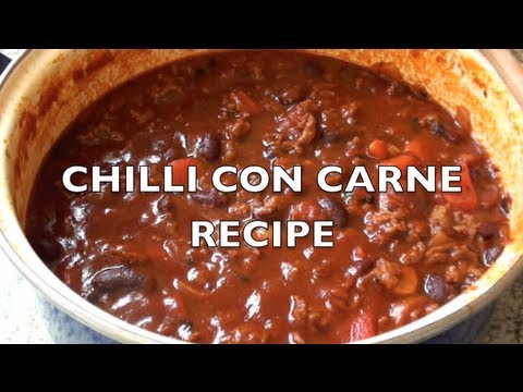 HOW TO MAKE CHILLI CON CARNE - Greg