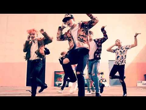 Stray Kids & BTS - District 9 x Fire   MASHUP