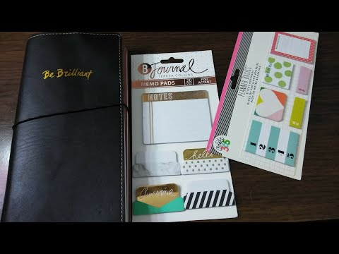 Cosmo Cricket Travelers Notebook Set-Up and Flipthrough