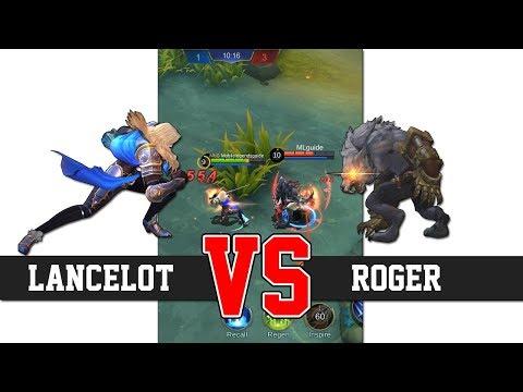 LANCELOT VS ROGER MOBILE LEGENDS