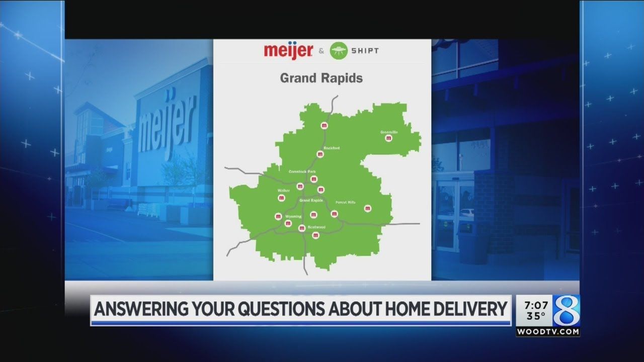Answering your questions about Meijer home delivery