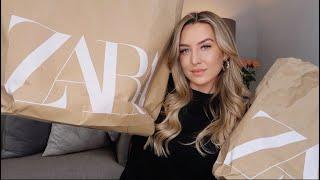 ZARA TRY ON HAUL!! WIN £100 ZARA VOUCHER!! | NEW SEASON 2020 | Freya Killin