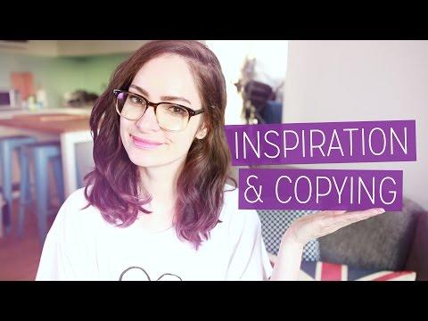 Design Inspiration & Copying | CharliMarieTV