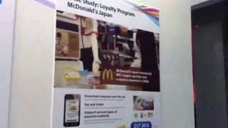 NFC FeliCa Phone, smart e-money, credit card | case McDonald's Kazasu Coupon