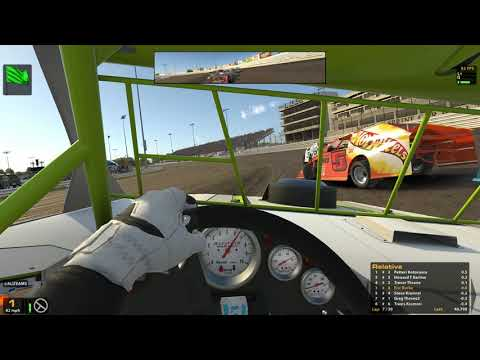 iRacing-UMP Modified Series @ Knoxville Raceway