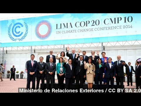 Lima Climate Summit Draws A Little Optimism, Less Attention