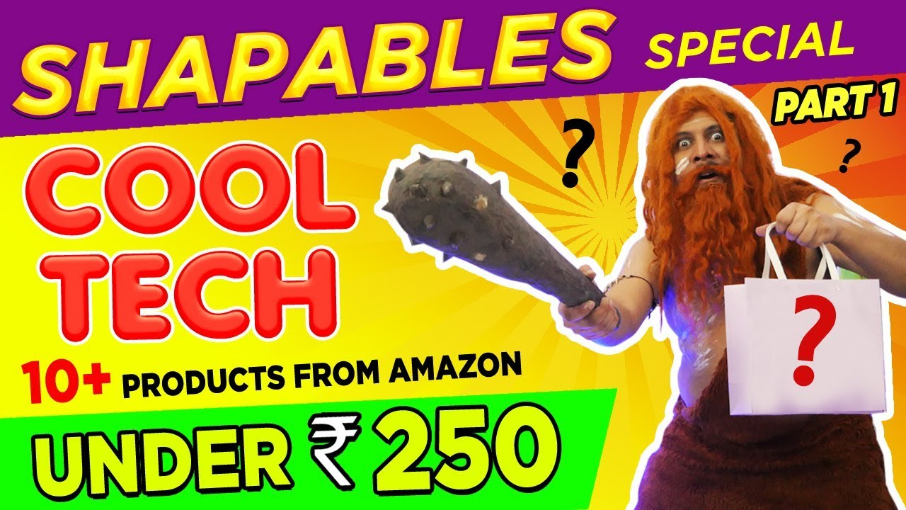 Top Tech Gadgets / Gifts Under Rs.250 - from AMAZON