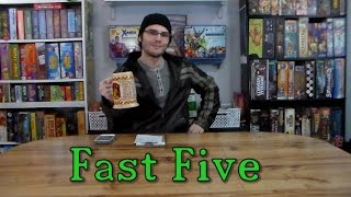 Fast Five: Top 5 Drinking Board Games - w/ Game Vine