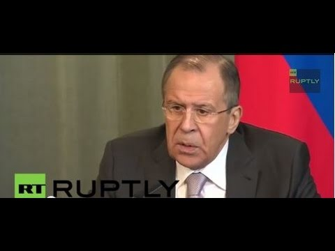 Lavrov holds press conference following trilateral talks with Sudan and South Sudan as LIVE