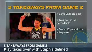 3 Takeaways From The Warriors Game 2 Win Over Spurs