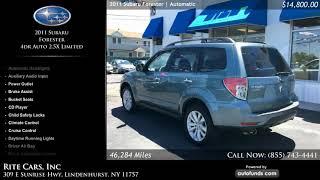 Used 2011 Subaru Forester   Rite Cars, Inc, Lindenhurst, NY