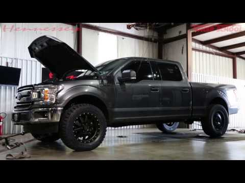 2018 HPE650 Supercharged Ford F-150 Truck Chassis Dyno Testing