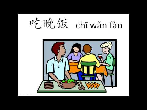 Learn Chinese - Daily Activities