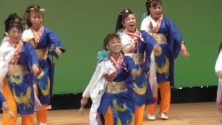 2017年8月6日 富山県民会館ステージ演舞、第57回富山まつり.
