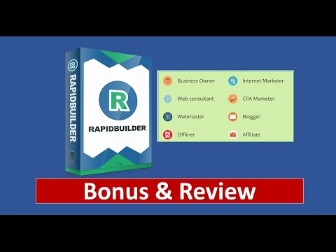 RapidBuilder WP Theme Review – Best RapidBuilder Bonus