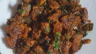 mutton fry recipe-mutton sukka-fried mutton-how to make mutton fry-hyderabadi tala hua gosht