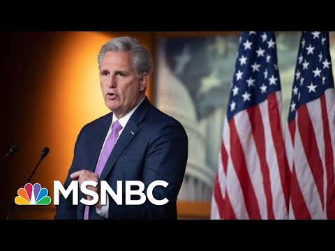 McCarthy: 'I Have A Hard Time Believing' Pelosi Doesn't Hate Trump | MSNBC