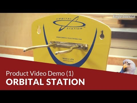 New Woodworking Product: Orbital Station Video Demo (1)