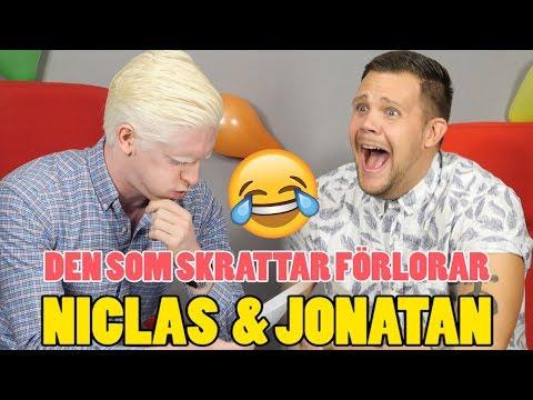 DEN SOM SKRATTAR FÖRLORAR - TORRA SKÄMT OCH ORDVITSAR MED NICLAS & JONATAN
