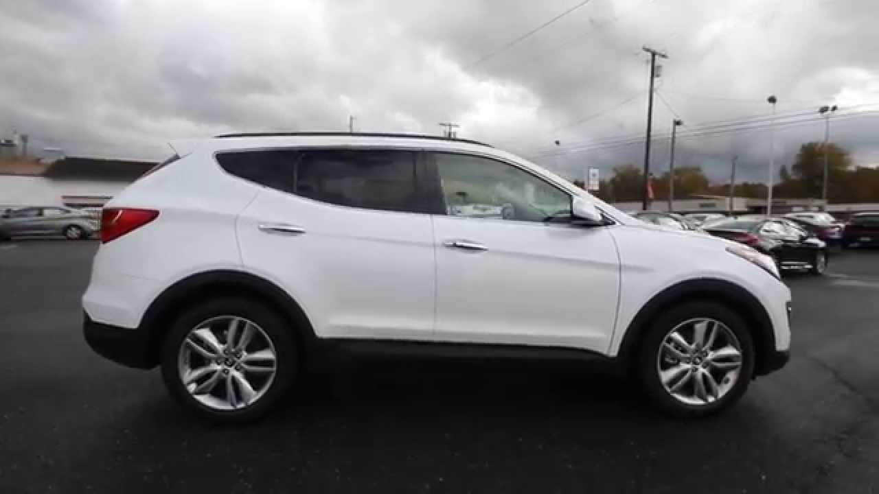 2015 Hyundai Santa Fe Sport 2 0l Turbo White Eg229278
