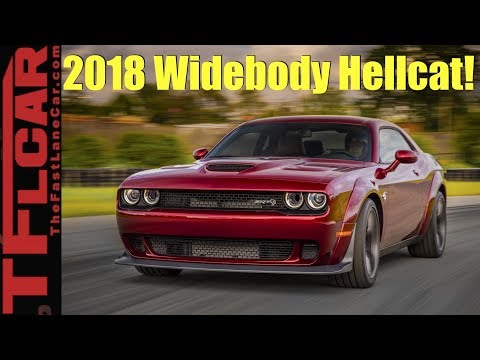 2018 Dodge Challenger Hellcat Widebody Surprise 707 HP with More Grip