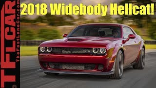2018 Dodge Challenger Hellcat Widebody Surprise! 707 HP with More Grip