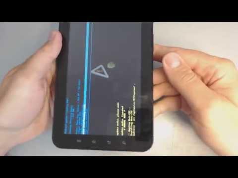 Samsung Galaxy Tab P1000 hard reset