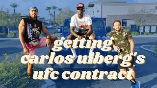 DWCS Vlog: Israel Adesanya & Brad Riddell Join Carlos Ulberg on a Mission to Win a UFC Contract