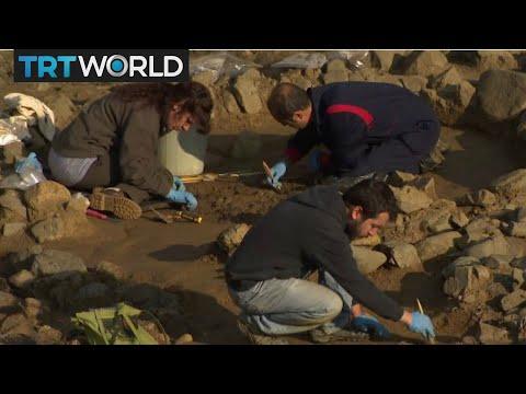 Besiktas Archeology: Ancient graveyard found in subway construction