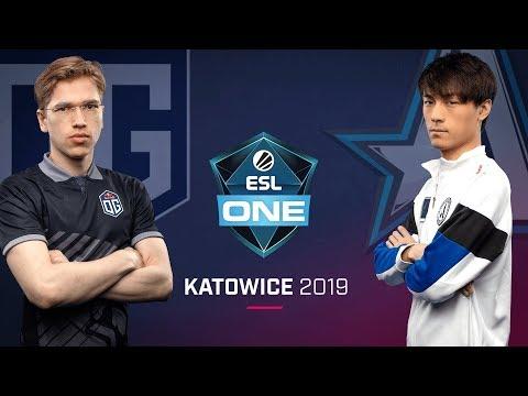 OG vs Aster - ESL One Katowice 2019 - Game 1