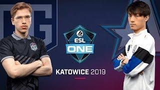 Dota 2 - OG vs. Aster - Game 1 - LB Ro4a #1 - ESL One Katowice 2019