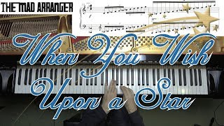 When You Wish Upon a Star - Advanced Jazz Arrangement by Jacob Koller with Sheet Music
