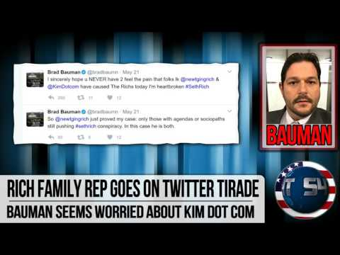 Seth Rich family rep FREAKS OUT about Kim Dot Com