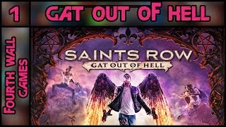 Saints Row: Gat Out of Hell PC Gameplay - Part 1 - 1080p 60fps