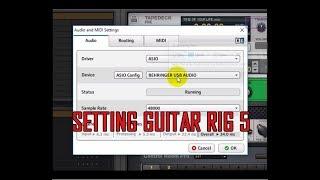 Guitar RIG 5 Tidak Mengeluarkan Suara? ini cara memperbaiki settingnya
