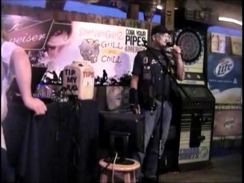 bobcat singing aint much fun with HOT & HARRY KARAOKE