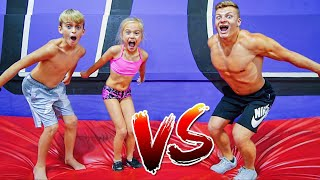 GAME OF FLIP VS TWIN KIDS!