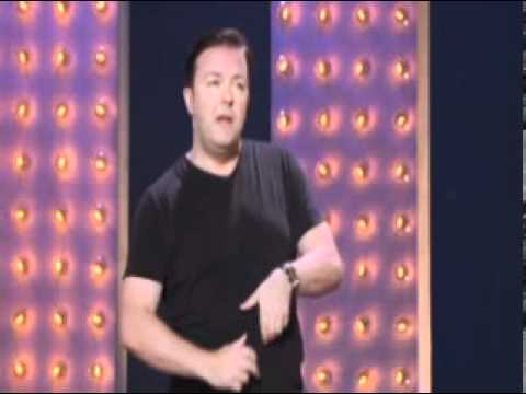 Ricky Gervais - Fat Woman and McDonalds