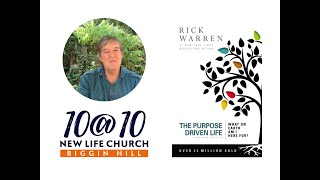 10@10 - The Purpose Driven Life - Day 17 - Part 1 - Paul Farrar